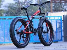 NEW FATTYER FOLDING  CYCLE 21 SHIMANO GEARS