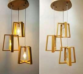 Kap lighting lampu gantung lampu vintage lampu tumblr lampu cafe