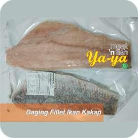 Daging Fillet Ikan Kakap Pack 1kg