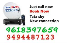Tatasky new cunection Dish tv! and tata sky COD Here  Same Day Install