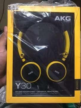 Headset AKG y30 kuning