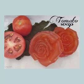 Tomoto soap for skin whitening