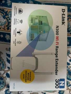 D-LINK N300 wifi range extender