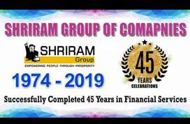 Vacancy for shriram groups with 25 post only experience holder people