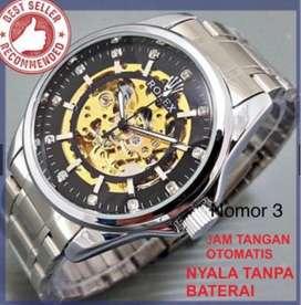 Jam tangan rolex otomatis