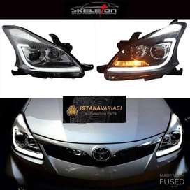 READY Headlamp Proyektor LED BAR All new Avanza 2mata Original eagle