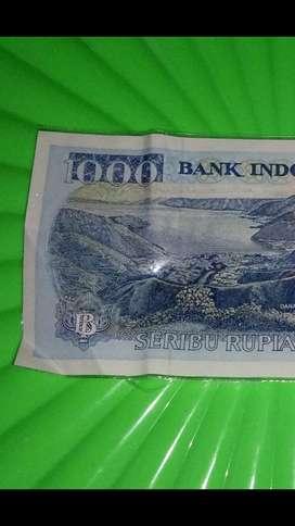Uang langka 1000 rupiah