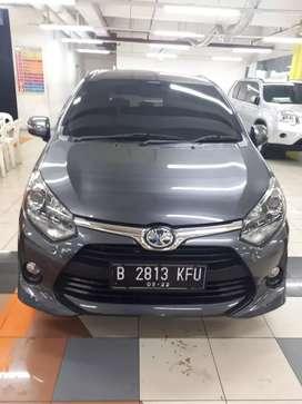 Toyota Agya G 1.2 metik 2017-km 10rb rekot-full ori-tgn1-MGK kemyran