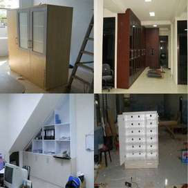 Custom Furniture (bahan multiplek HPL)