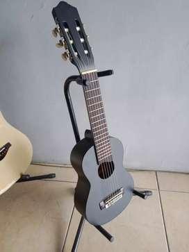 Gitar Lele Guitalele Hitam Custom