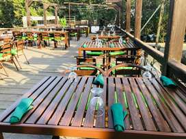Farm Houses Outdoor Table Set Fully Aluminum Rust & Water Proof