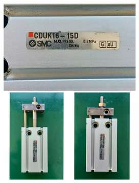 SMC PNEUMATIC SLIDE GUIDED CDUK16-15D