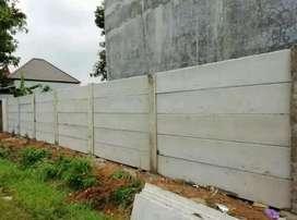 Pagar panel beton & Jasa Pemasangan Surabaya