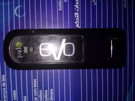 PTCL Evo 3G along with Antenna with 10m Cable.