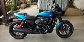 Jual Harley Davidson Street Rod 750 full paper super clean