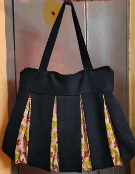 Stiched fancy cloth hand bags