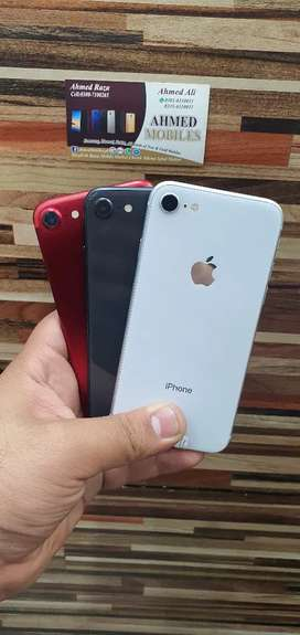 Iphone 8 64 gb Brand New Condition All colours Avalible Pta Approved