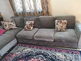 Sofa set with 1year old