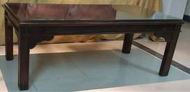 Brown centre table