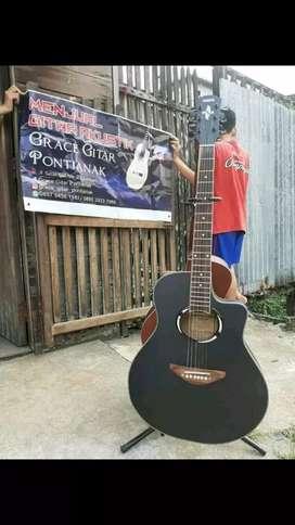 Gitar Akustik Yamaha Apx500ii black