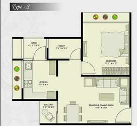 1 bhk on first floor fully furnished.  Lift facility is available