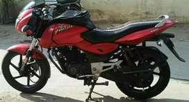 Bajaj pulsar.150cc.red..black