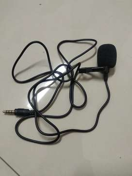 Portable 3.5 mm external microphone