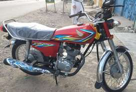 Honda cg125 DG khan regested in best condition