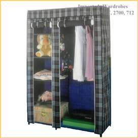 Portable Wardrobe 2 Door wardrobe, 	Where tradition meets f