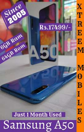 Samsung A50.. Just 1 Month Used..