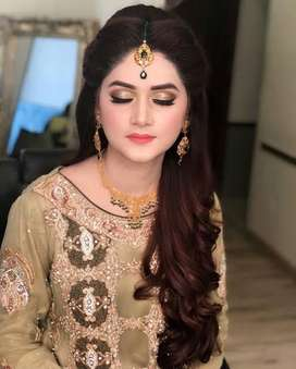 female makeup artist in bahria town lahore