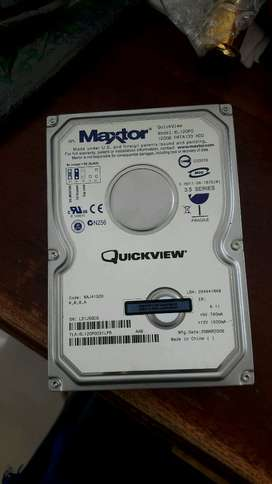 hdd external maxtor 120gb 150rb