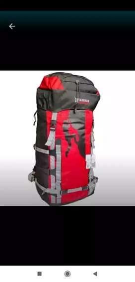 Jual tas ransel gunung gerbag merah 70 80 liter raicover koper dll