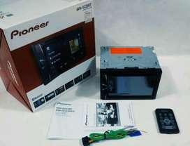 dobel din pioneer bluetooth G225 + pasang