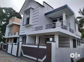 3 bhk 1450 sqft 3 cent new build house at aluva very close to karmal