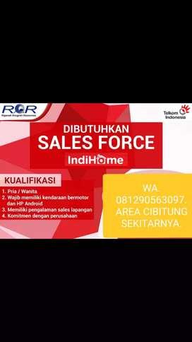 Sales indihome(PENEMPATAN DI AREA CIBITUNG)