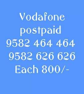 Vodafone postpaid vip number
