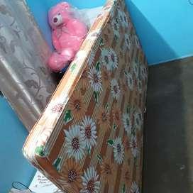 Kurlon- Foam Mattress ( 72*36*4) inch with quilt covers