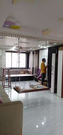 3 BHK FULLY FURNISH LUXURIOUS FLAT  AMBERNATH EAST NEAR STATION
