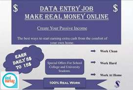 Online data entry tpying jobs