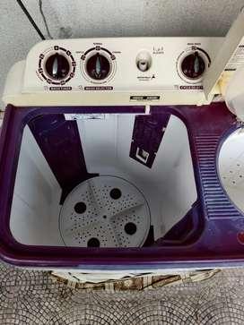 Videocon Storm prime Eco wash 6kg semi automatic washing machine