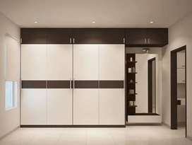 Wardrobes single door, 2 doors 3 doors wall cupboards