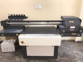 3 Months Old, UV FlatBed 2*3 Square Feet Printing Machine