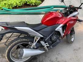 CBR 250CC Red color