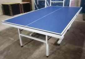 Tennis meja pingpong lipat cod bahan mdf partikel  kaki besar lokoh