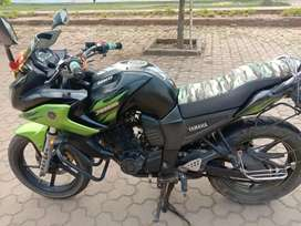 A bike is very good condition