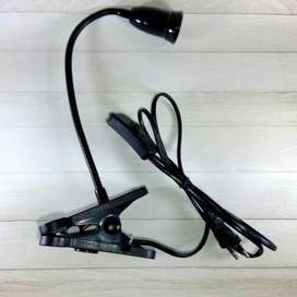 Fitting Jepit Meja Fleksibel E27