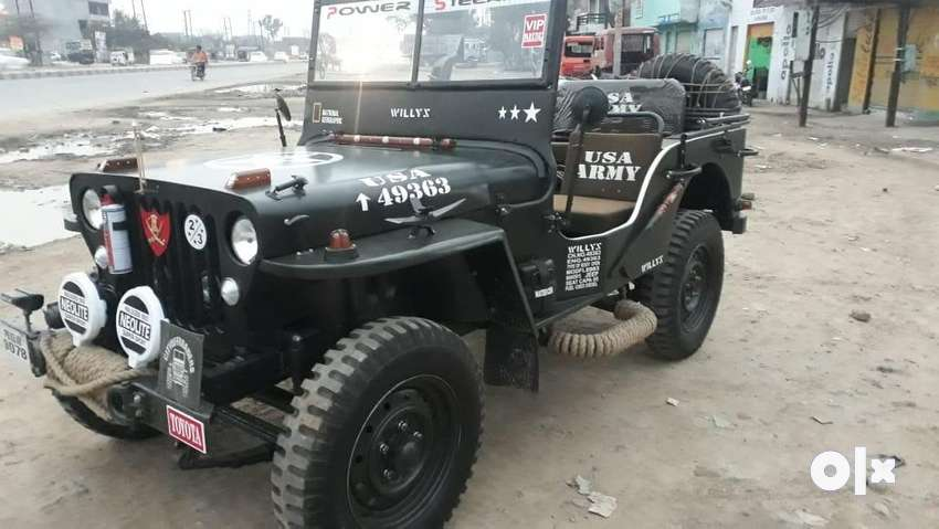 Modified Army willy jeep 0