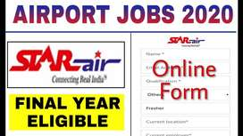 Recruitment in airport Job urgent Hiring All staff for  airlines