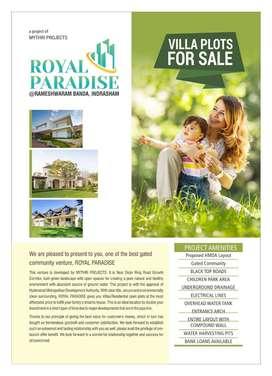 Villa plots for sale near Indresham Rameshwaram banda